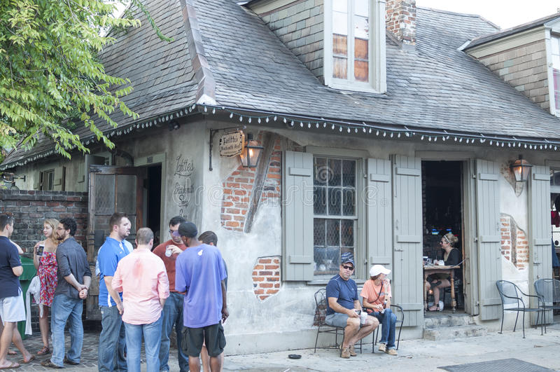O ferreiro Shop de Lafitte fotografia de stock royalty free