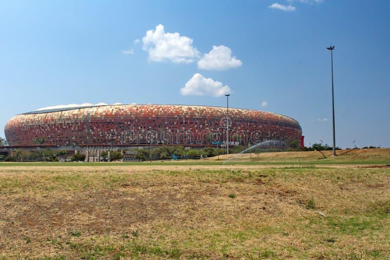 O FNB Stadium fotografia de stock