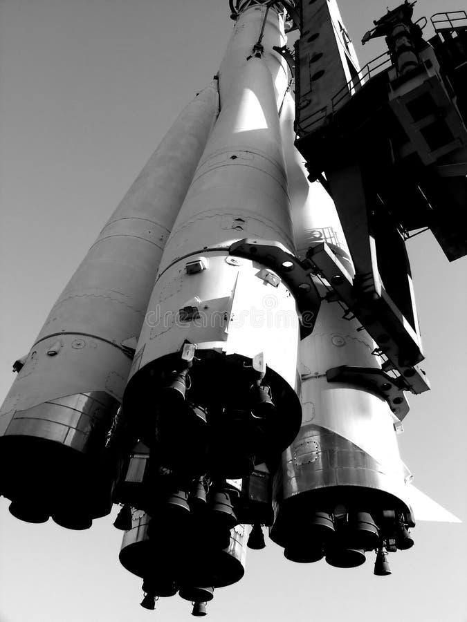 O foguete imagens de stock