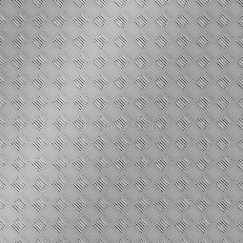 2.o fondo de la textura del treadplate de acero imagen de archivo