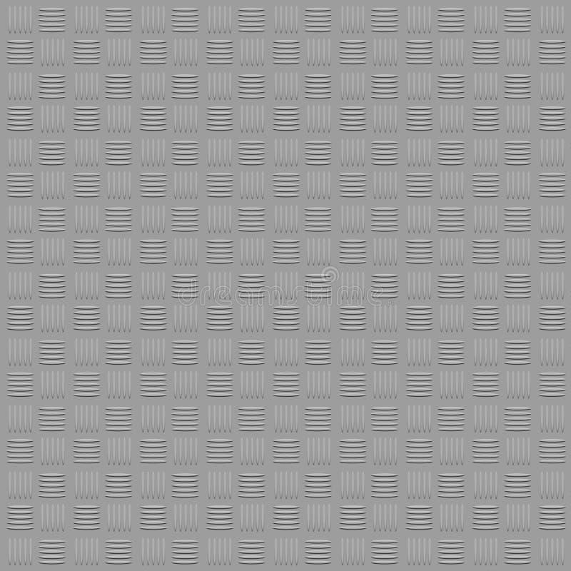 2.o fondo de la textura del treadplate de acero fotos de archivo