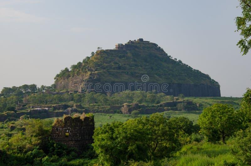 O forte de Devagiri-Daulatabad imagem de stock royalty free