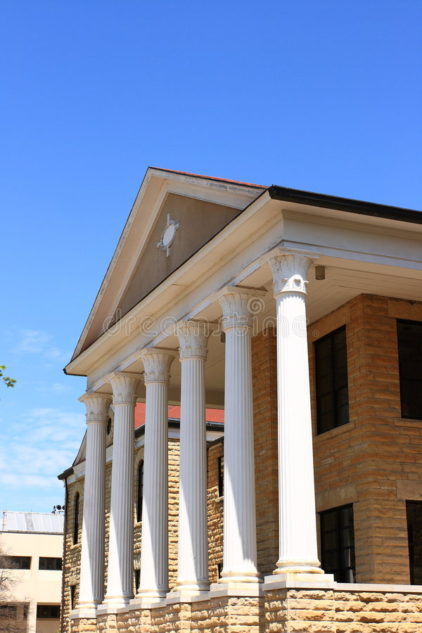 O forte de Picken Salão faz feno a universidade de estado foto de stock royalty free