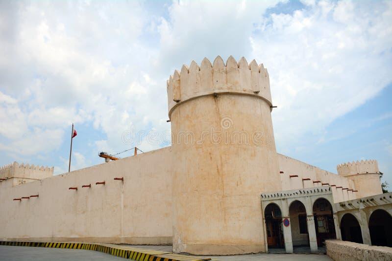 O forte, Doha, Catar fotografia de stock