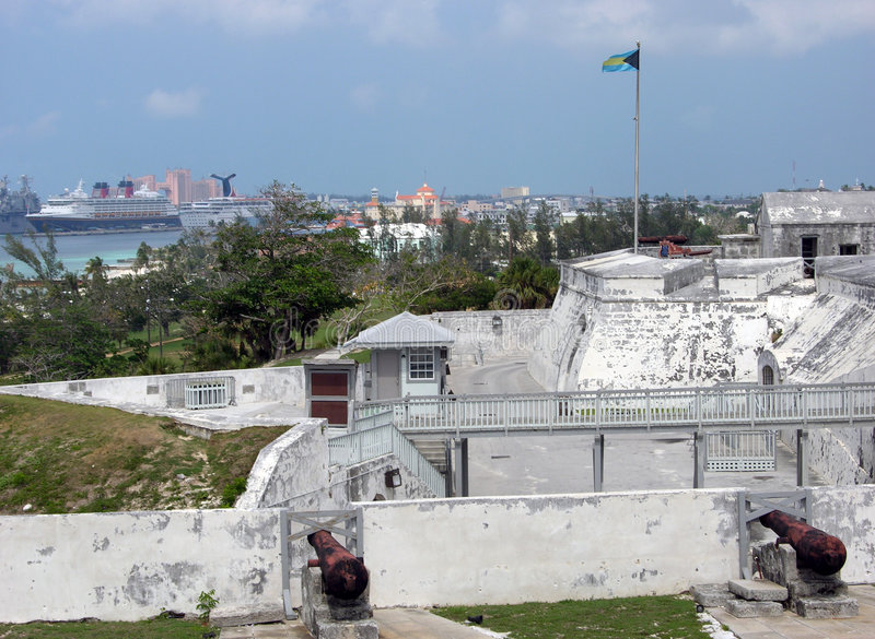 O forte dos Bahamas foto de stock royalty free