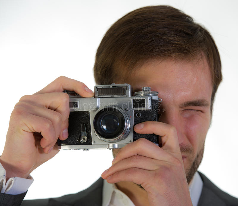 Download Fotografias do fotógrafo foto de stock. Imagem de holding - 29831436