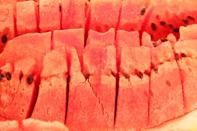 O fruto da melancia isolou o Sao branco Paulo Brazil do reflesh do alimento do fundo foto de stock royalty free
