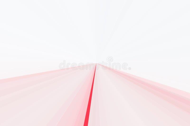 O fulgor cor-de-rosa abstrato irradia o fundo Teste padrão colorido do feixe das listras Cores modernas da tendência da ilustraçã ilustração royalty free