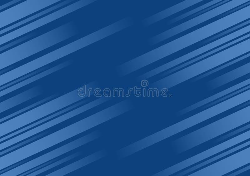 O fundo azul textured o projeto linear diagonal do papel de parede ilustração do vetor