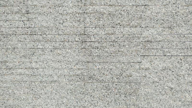 O fundo cinzento da textura do teste padrão das telhas do cascalho fotografia de stock