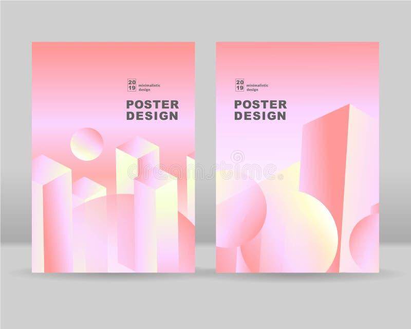 O fundo colorido abstrato Pode ser usado para cartazes, cart?es, insetos, folhetos, compartimentos e qualquer tipo da tampa Eps 1 ilustração stock
