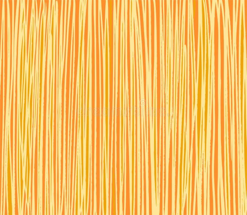 O fundo, cursos, simulando a textura da madeira, amarela ilustração royalty free