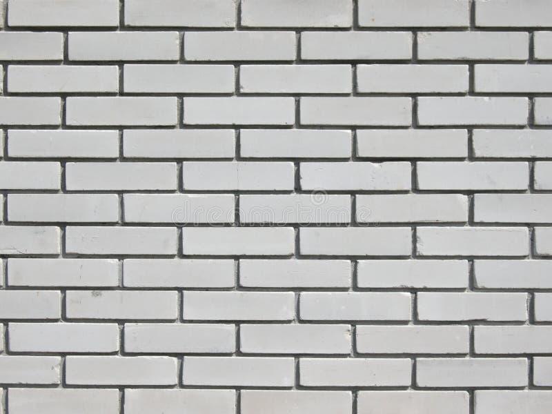 O fundo da parede dos tijolos brancos foto de stock royalty free