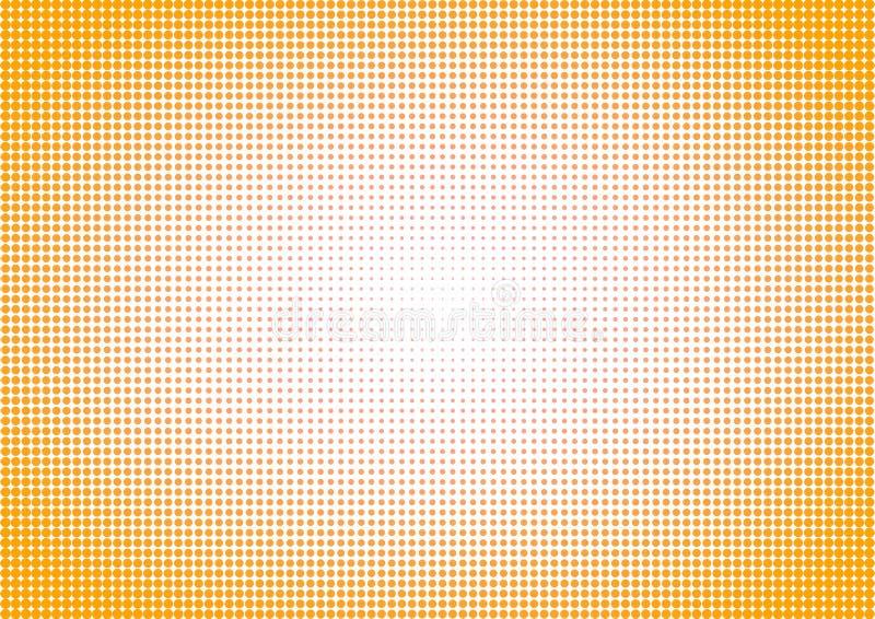 O fundo de intervalo mínimo pontilhou o vintage amarelo fotografia de stock royalty free