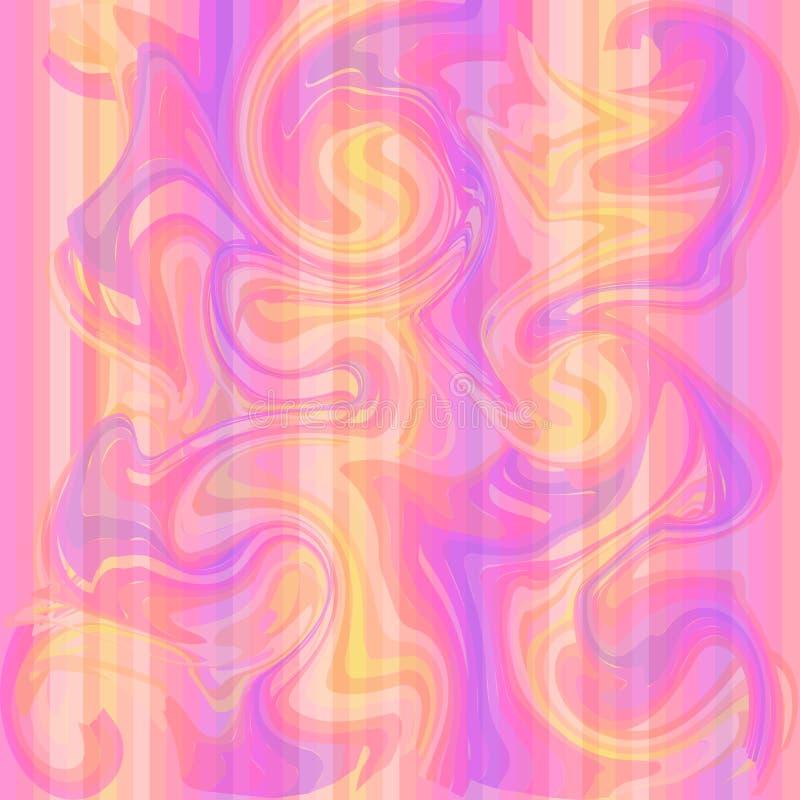 O fundo de mármore da textura em cores do lila pode ser usado para o fundo ou o papel de parede ilustração do vetor