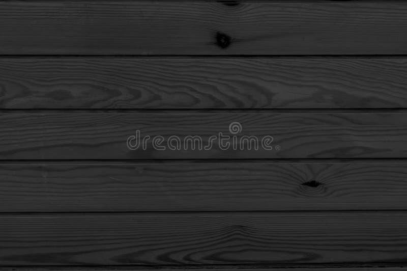 O fundo de madeira vazio vazio traseiro, superfície escura pintada da tabela, textura de madeira colorida embarca com espaço da c fotos de stock royalty free
