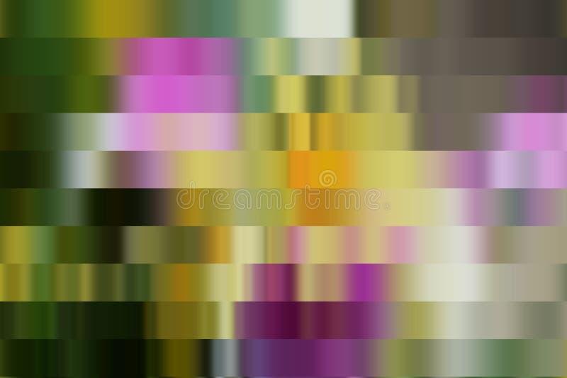 O fundo de prata azul do verde violeta cor-de-rosa do ouro, cores, protege gráficos abstratos Fundo e textura abstratos imagem de stock