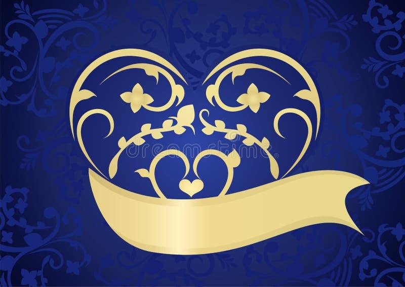 O fundo delicado do dia do Valentim ilustração royalty free