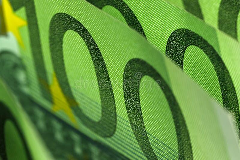 O fundo financeiro criado pelo dinheiro do Euro imagem de stock