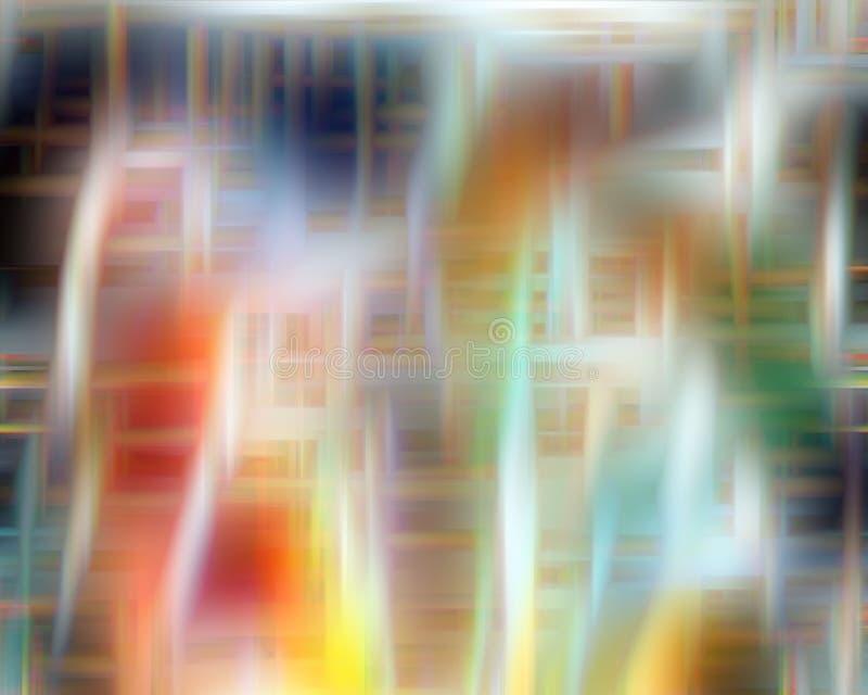 O fundo macio vívido, mistura macia contrasta, linhas, formas, gráficos Fundo e textura abstratos imagem de stock royalty free