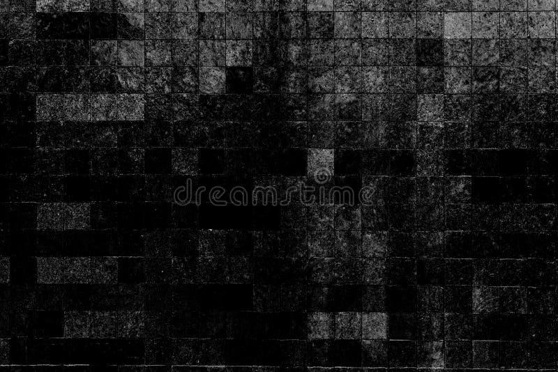 O fundo preto e branco do sumário do teste padrão da textura da cor pode ser uso como a capa do folheto da poupança de tela do pa foto de stock royalty free