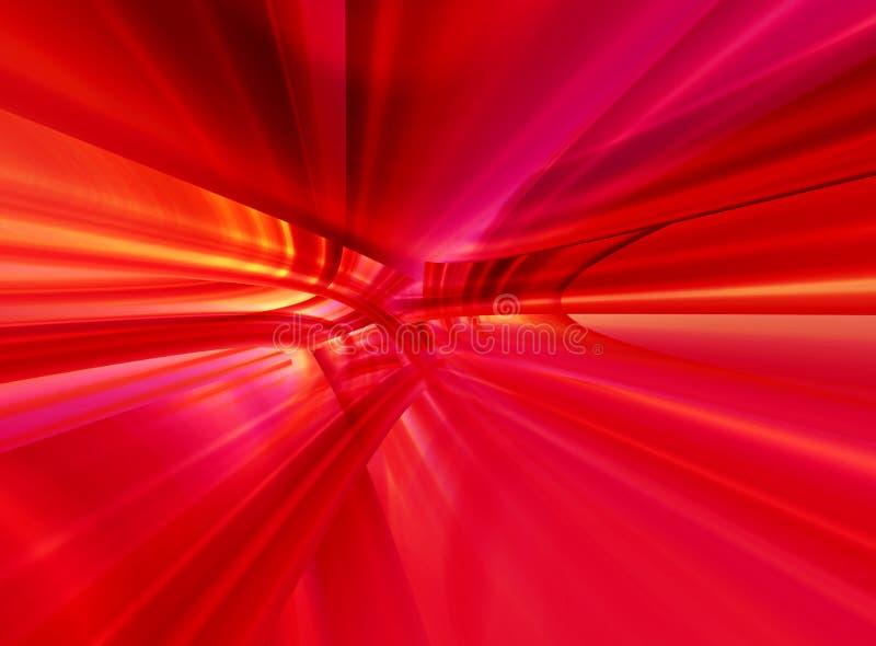 O fundo vermelho abstrato FO dos gráficos projeta ilustração stock