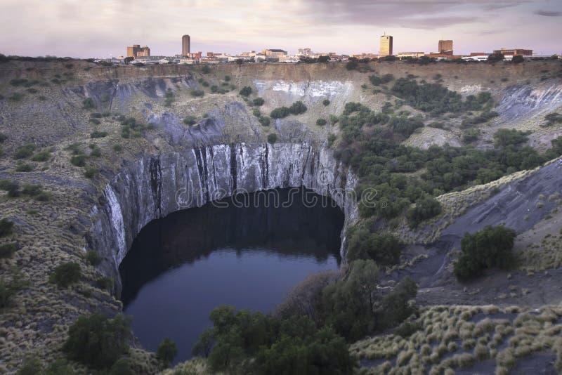 O furo grande em Kimberley fotografia de stock royalty free