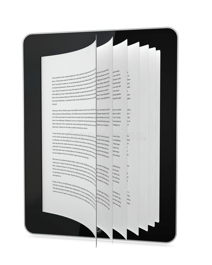 O futuro dos livros? ilustração stock