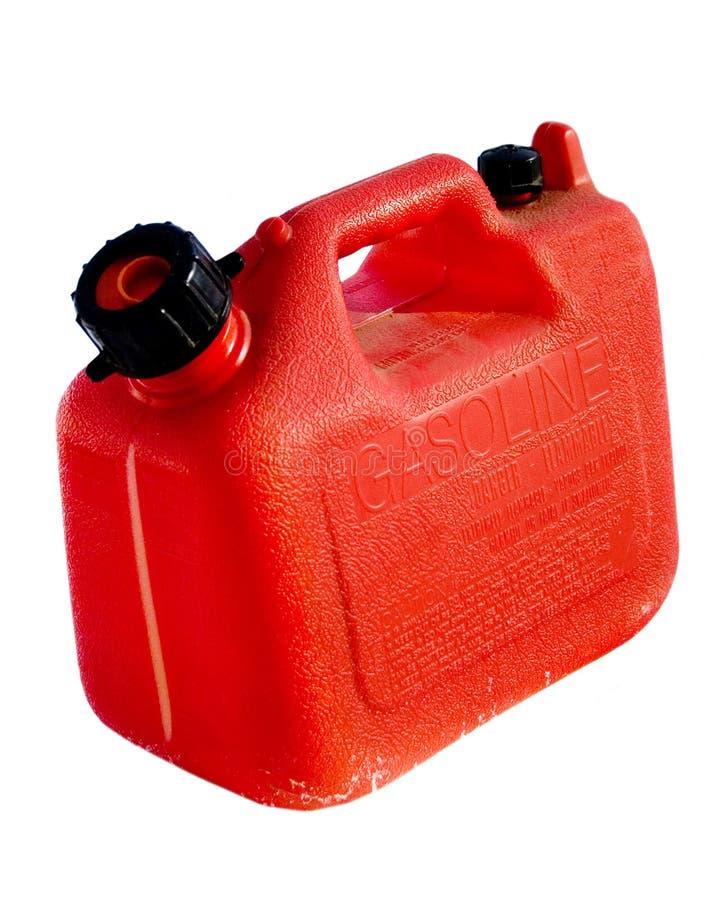 O gás plástico pode fotos de stock