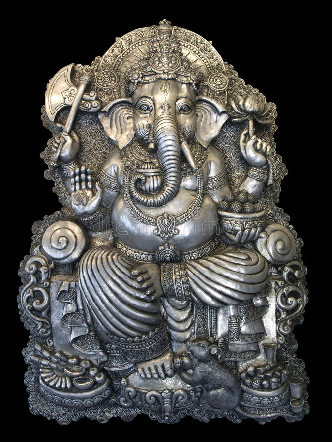O Ganesha foto de stock royalty free