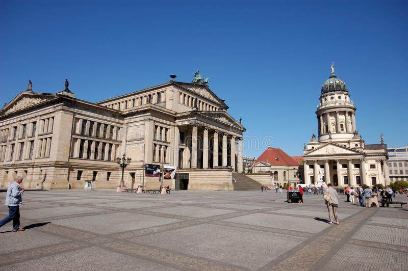 O Gendarmenmarkt em Berlim foto de stock