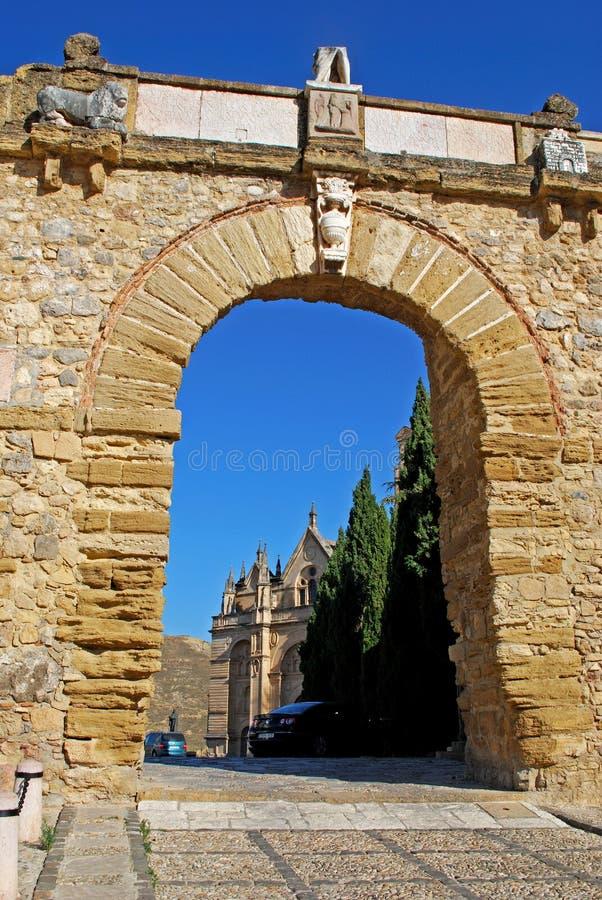 O Giants arqueia, Antequera fotografia de stock royalty free