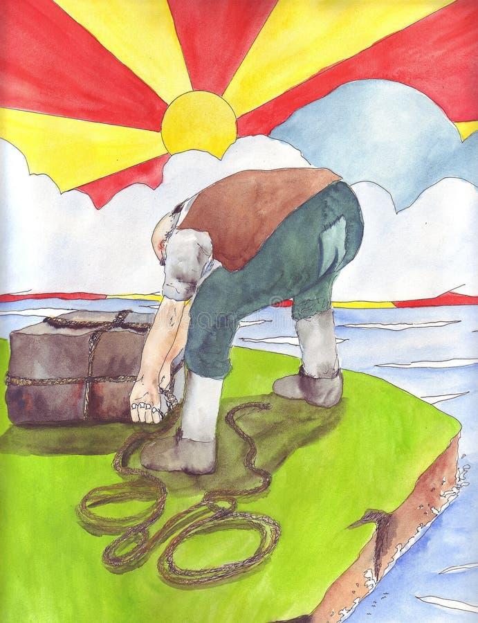 O gigante ilustração do vetor