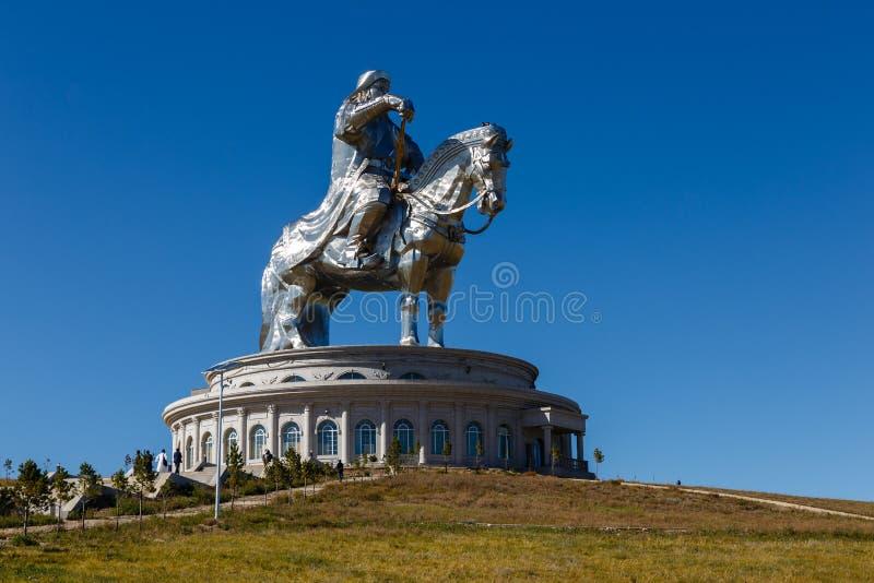 O gigante Genghis Khan foto de stock