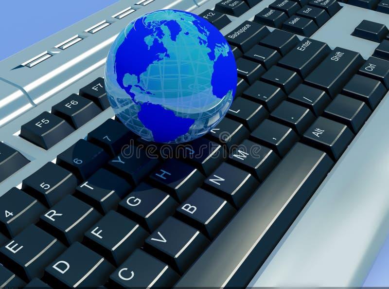 O globo ilustração royalty free
