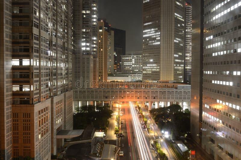 O governo metropolitano Bulidings em Tokyo imagens de stock royalty free
