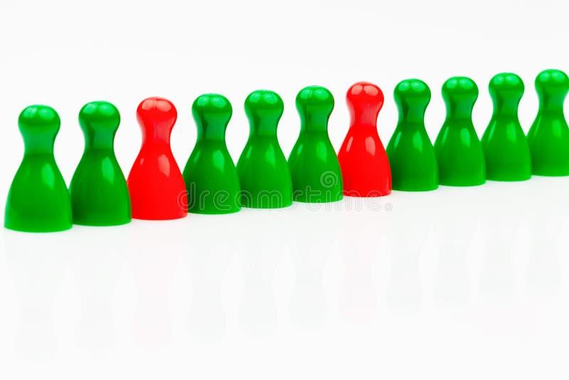 o governo Vermelho-verde da aliança imagem de stock royalty free