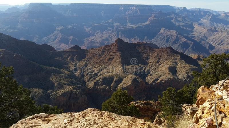 O Grand Canyon fotografia de stock