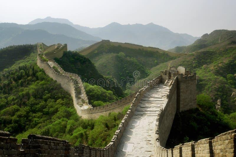 O Grande Muralha de China fotos de stock