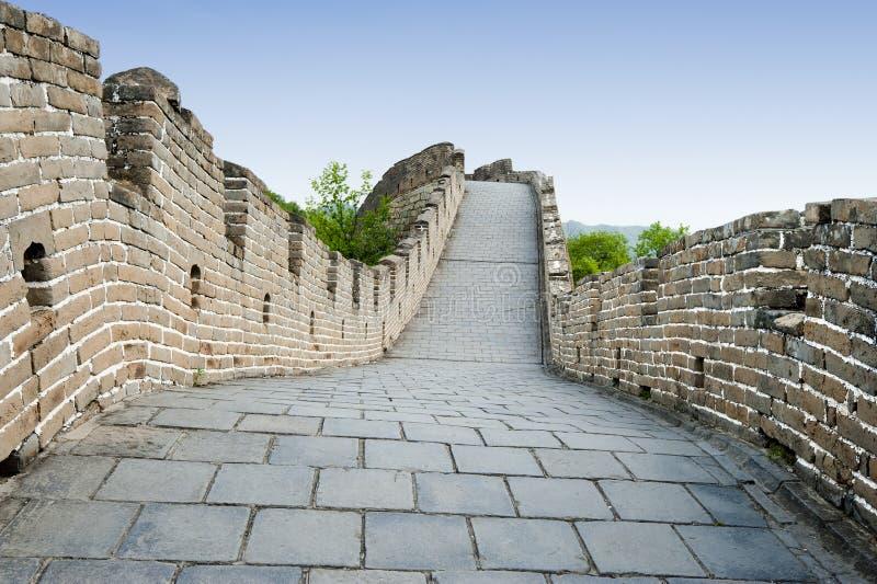 O Grande Muralha de China foto de stock