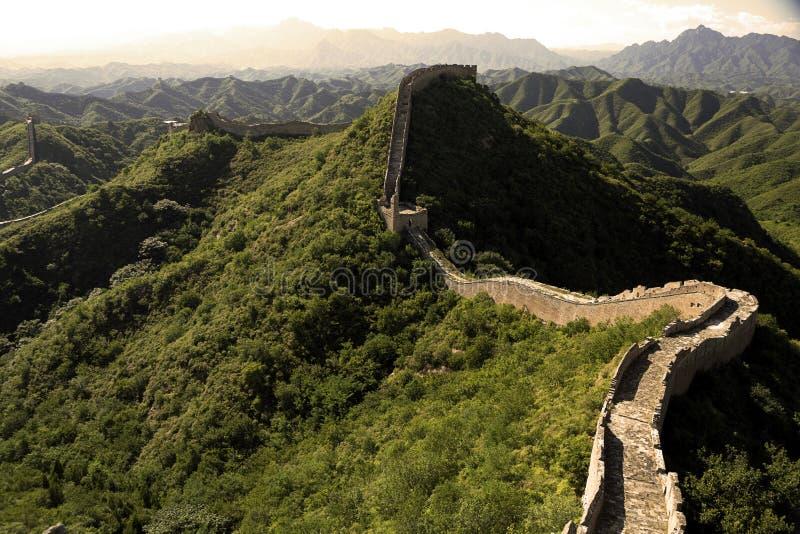 O Grande Muralha de China imagens de stock royalty free