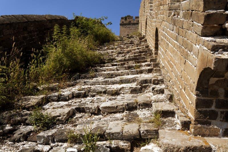 O Grande Muralha de China fotos de stock royalty free