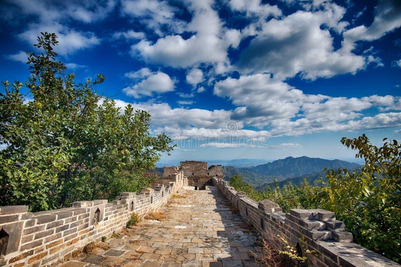 O Grande Muralha de China, Pequim fotografia de stock royalty free