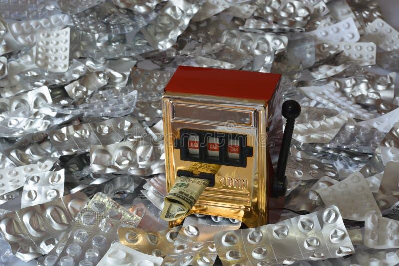 o grande negócio dos fármacos pelo mundo inteiro imagens de stock royalty free