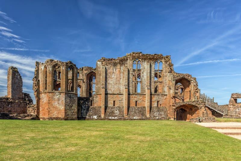 O grande salão, castelo de Kenilworth, Warwickshire fotografia de stock