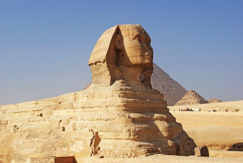 O grande Sphinx de Giza imagem de stock royalty free
