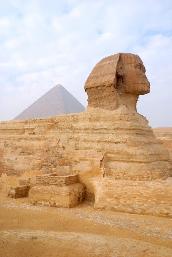 O grande Sphinx de Giza fotos de stock royalty free