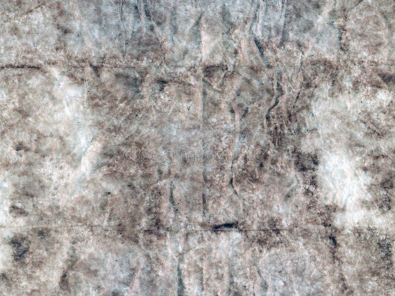 O Grunge textured o fundo cinzento da folha de papel abstrata Copie o espa?o Pergaminho do vintage fotografia de stock royalty free