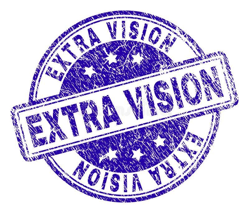 O Grunge Textured o selo EXTRA do selo da VISÃO ilustração royalty free