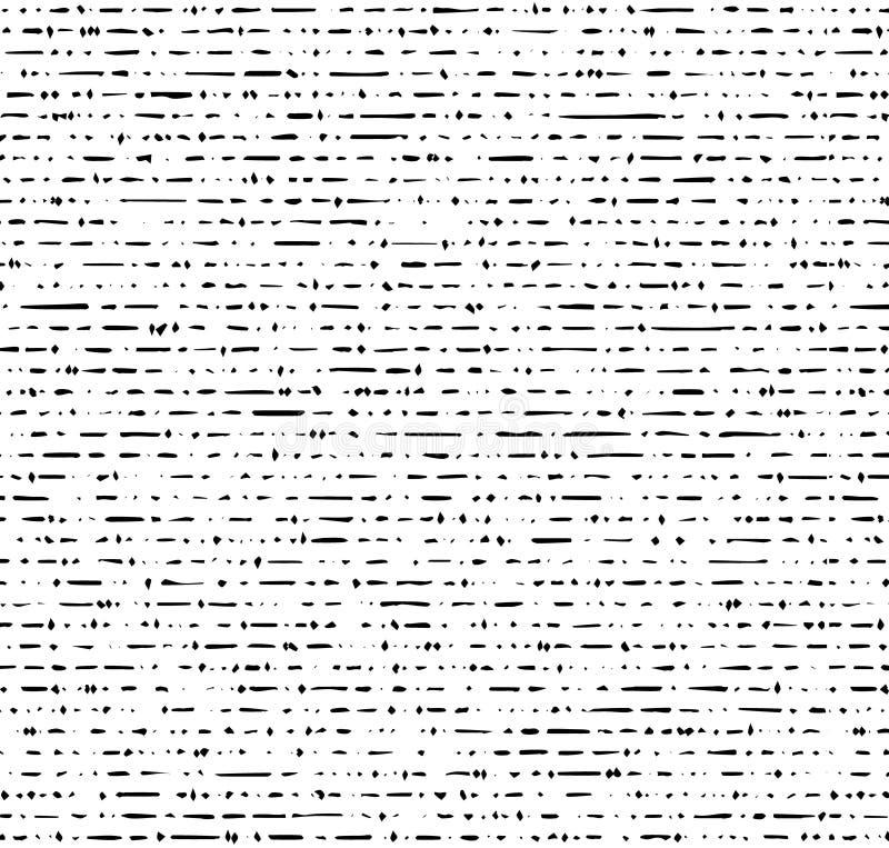 O Grunge textures o teste padrão sem emenda ilustração royalty free